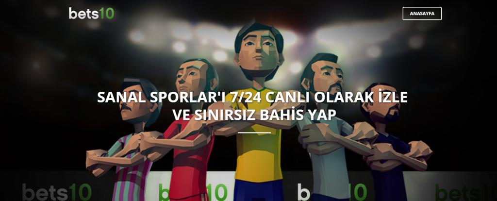 Bets10 Sanal Sporlar